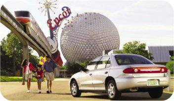 All USA holiday destinations are offered by cheap-car-rental.com